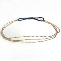 Headband - Bijou de tête (doré)