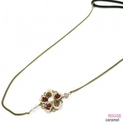 Headband - Bijou motif fleur et filigrane (antique gold)