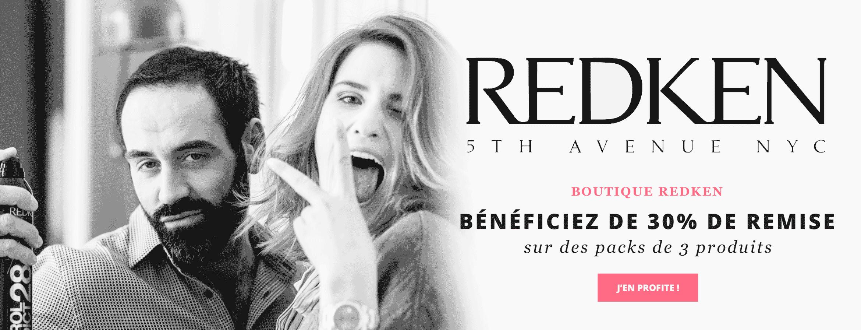 Produits Redken remisés jusqu'à -30%