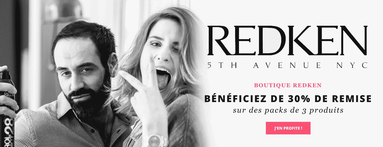 Produits Redken remisés jusqu'à - 30%